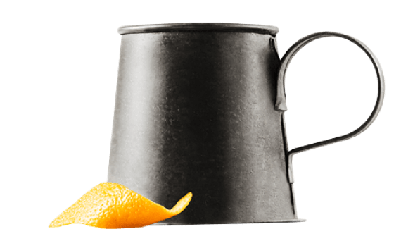 Old Fashioned au gin chaud